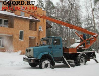 Барнаул чистка снега с крыш